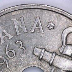 Monedas con errores: ESTADO ESPAÑOL 50 CENTIMOS 1963*19*65 ERROR - INCUSA - MUY RARO Y MÁS ASÍ. Lote 230890475