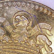 Monedas con errores: ESTADO ESPAÑOL 1 PESETA 1966*19*73 RARO ERROR EN CUELLO- EXCESOS DE METAL EN ALAS - GRAFÍA IRREGULAR. Lote 231051100