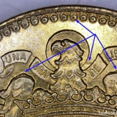 Monedas con errores: ESTADO ESPAÑOL 1 PESETA 1966*19*73 RARO ERROR EN CUELLO- EXCESOS DE METAL EN ALAS - GRAFÍA IRREGULAR. Lote 231068105