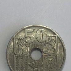 Monedas con errores: * ERROR * FLECHAS INVERTIDAS 50 CENTIMOS AÑO 1949*51 RARA Y PRECIOSA.. Lote 234832800