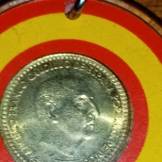 Monedas con errores: PESETA FRANCO 1966 CON EL ESCUDO A LA INVERSA. Lote 235541500