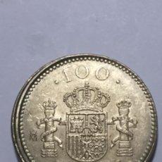 Monedas con errores: * ERROR * 100 PESETAS AÑO 2000. DESPLAZADA DE REVERSO Y CANTO CORONA PERFECTO. Lote 236257580