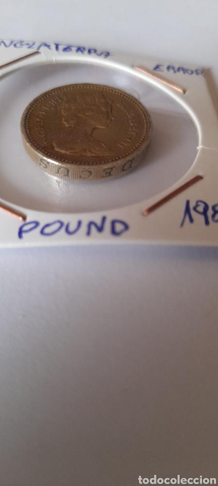 Monedas con errores: ONE POUND Variante 1983 DECUS al revés - Foto 3 - 238599145