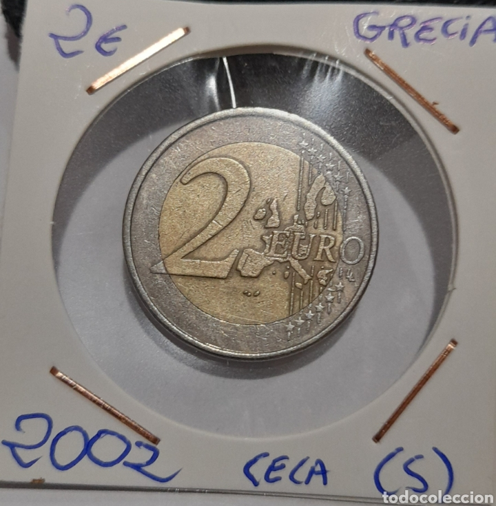Monedas con errores: Moneda 2 Euros Grecia 2002 (S). Ver fotos. - Foto 4 - 240086975