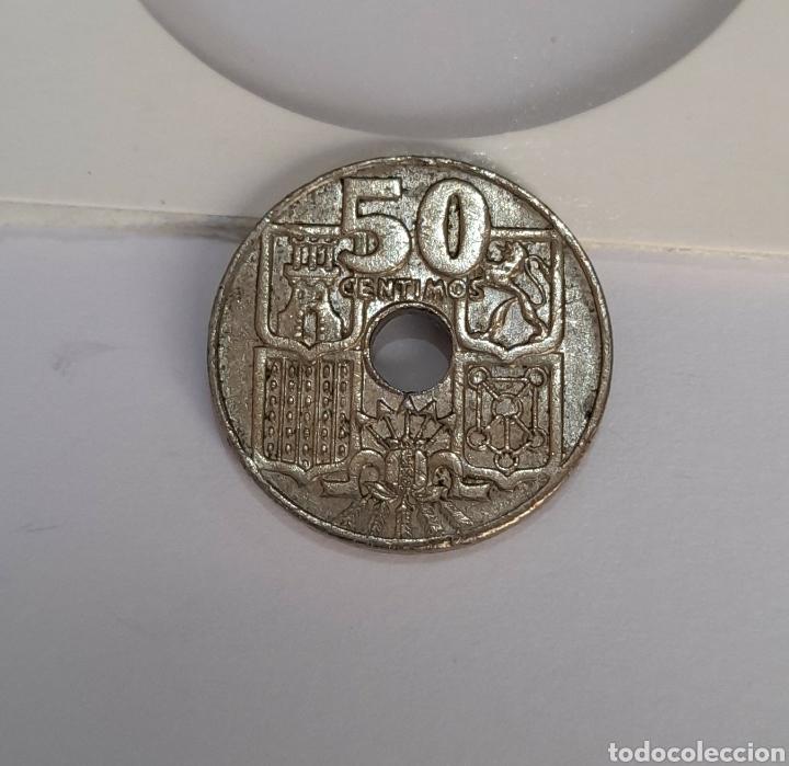 Monedas con errores: 50 Céntimos Muy Rara 1949 (* 64 !!! ) Franco. Ver fotos. - Foto 5 - 242990595