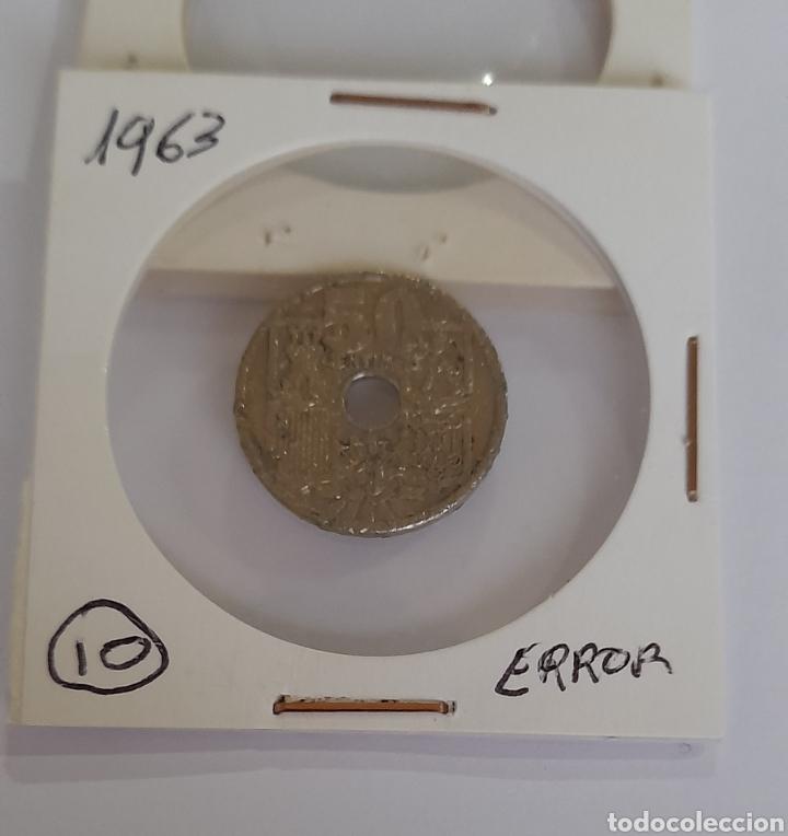 Monedas con errores: 50 Céntimos Error 1963 Franco. Ver fotos. - Foto 7 - 243016320
