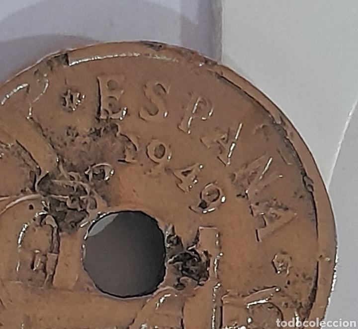Monedas con errores: 50 Céntimos 1949 *E *51 con error de acuñación. Ver fotos y descripción. - Foto 2 - 243024110