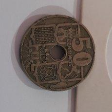 Monedas con errores: 50 CÉNTIMOS ERROR 1949 *51 FRANCO . VER FOTOS.. Lote 243028215