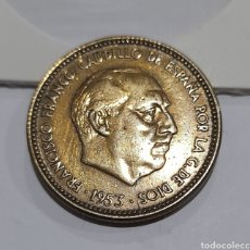 Monedas con errores: 2.5 PESETAS CON ERRORES 1953 *56 FRANCO. VER FOTOS.. Lote 243059570