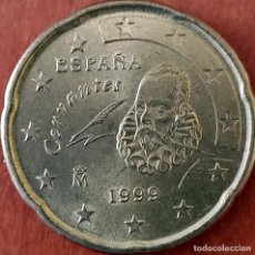 Monnaies avec erreurs: ESPAÑA 0,20 CENT DE EURO 1999 - VARIEDAD. Lote 243613305