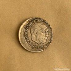Monedas con errores: PESETA DE 1963 *19 *65 CON GRAN DEFECTO DE ACUÑACION (REF. 17). Lote 243912820