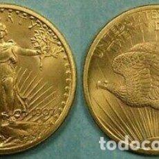 Monedas con errores: DOS MONEDA SAINT GAUDENS 22 KTES HGE.. Lote 247365620