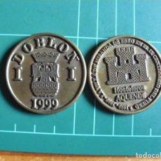 Monedas con errores: MONEDA MERCADO MEDIEVAL 1999 MIRANDA DE EBRO (BURGOS) 1 DOBLON ÚNICA EN TODOCOLECCION METALICA. Lote 248252860
