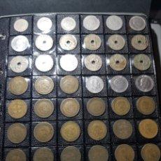 Monedas con errores: ALBÚM 330 MONEDAS (GIROS,DESPLAZADAS,REPINTES,EMPASTES,EXCESO METAL,INCUSAS,SEGMENTADAS,CUÑO PARTIDO. Lote 254002960