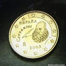 Monedas con errores: ERROR DE 10 CÉNTIMOS AÑO 2003 EXCESO DE MATERIAL EN LAS ESTRELLAS ANVERSO S/C. Lote 255972435