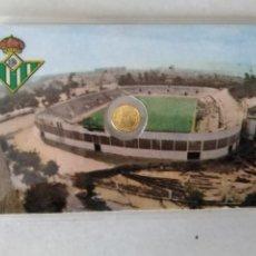 Monedas con errores: RARA TARJETA MEDALLITA MUNDIAL ESPAÑA 82 FC BETIS.. Lote 259333055
