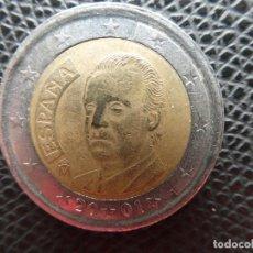 Monedas con errores: MONEDA 2 € ESPAÑA 2001 ABOMBADA EN REVERSO Y VARIANTES. Lote 262523270