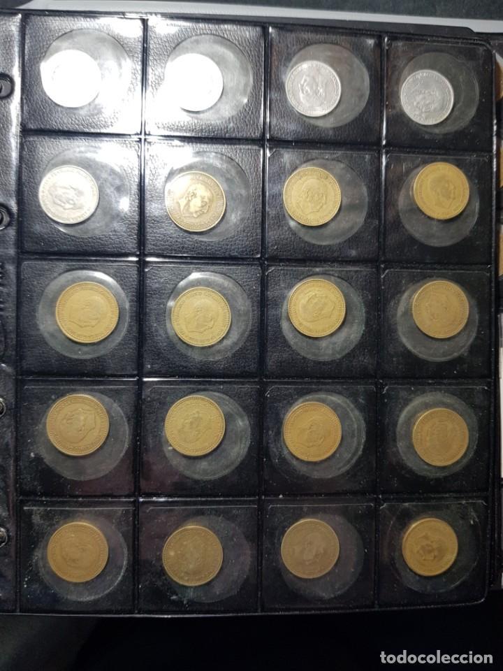 Monedas con errores: ALBÚM 330 MONEDAS (GIROS,DESPLAZADAS,REPINTES,EMPASTES,EXCESO METAL,INCUSAS,SEGMENTADAS,CUÑO PARTIDO - Foto 9 - 264230228