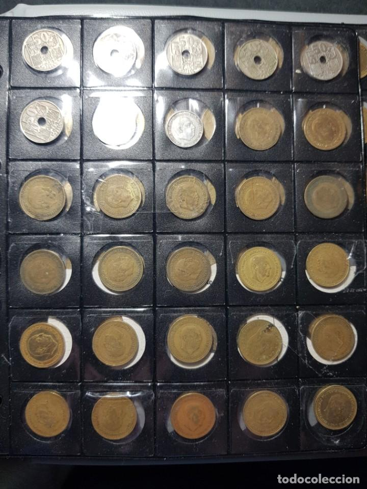 Monedas con errores: ALBÚM 330 MONEDAS (GIROS,DESPLAZADAS,REPINTES,EMPASTES,EXCESO METAL,INCUSAS,SEGMENTADAS,CUÑO PARTIDO - Foto 11 - 264230228