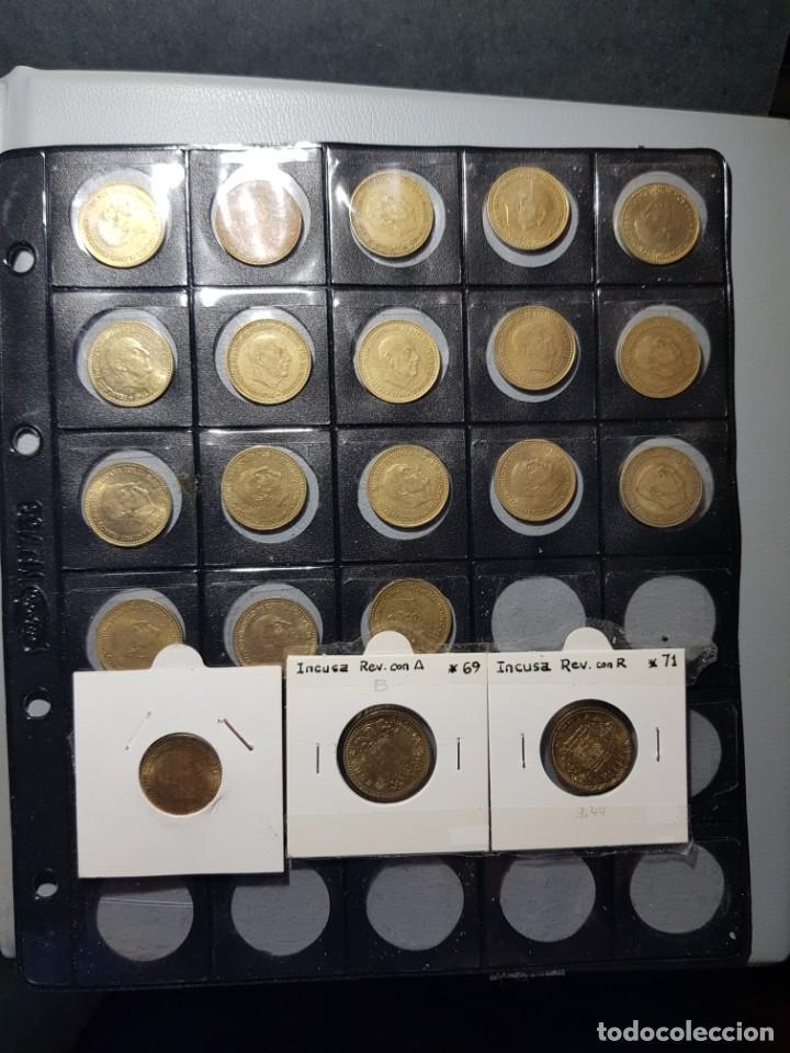 Monedas con errores: ALBÚM 330 MONEDAS (GIROS,DESPLAZADAS,REPINTES,EMPASTES,EXCESO METAL,INCUSAS,SEGMENTADAS,CUÑO PARTIDO - Foto 12 - 264230228