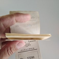 Monedas con errores: LOTE DE 20 VALES DE 5 KG DE PAN, PANADERÍA SEROS BARCELONA, GUERRA CIVIL. Lote 270964428