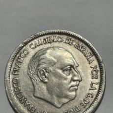 Monedas con errores: * ERROR * 25 PESETAS AÑO 1957*67 LISTEL GRUESO ANVERSO. Lote 274020548