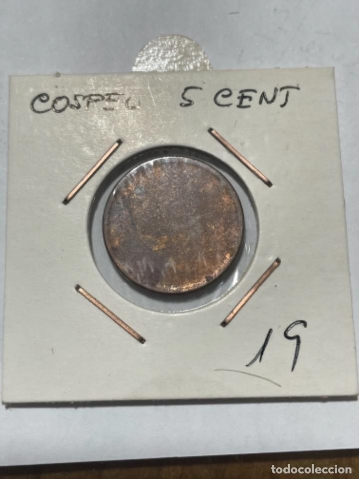 Monedas con errores: * ERROR *COSPEL SIN ACUÑAR DE LA MONEDA 5 CENT. MIRA TODOS MIS ARTICULOS EN VENTA Y AHORRA EN GASTOS - Foto 2 - 259866885
