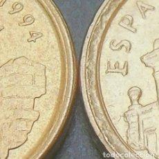 Monedas con errores: ##VARIANTE CANTO ANCHO## ARAGÓN 5 PESETAS 1994. Lote 278578698