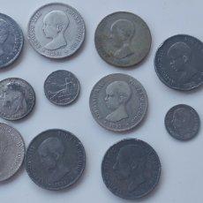 Monedas con errores: BONITO LOTE DE 11 MONEDAS FALSA DE EPOCA. Lote 287745433