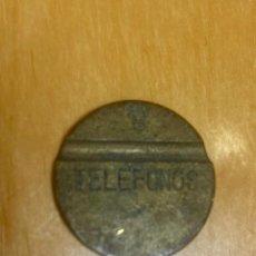 Monedas con errores: MONEDA TELEFONOS. LETRA D. MUY RARA. TELEFÓNICA.. Lote 296862068