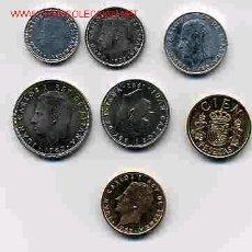 Monedas de España: COLECCION PESETAS AÑO 1982 M COMPLETA SIN CIRCULAR.. Lote 34128763
