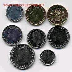 Monedas de España: COLECCION PESETAS AÑO 1984 M COMPLETA SIN CIRCULAR.. Lote 21514566