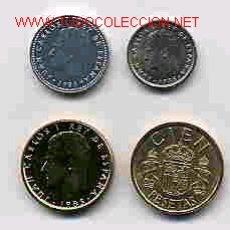 Monedas de España: COLECCION PESETAS AÑO 1985 M COMPLETA SIN CIRCULAR.. Lote 21856528