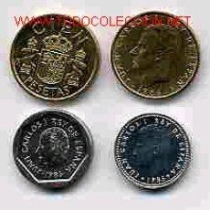 Monedas de España: COLECCION PESETAS AÑO 1986 M COMPLETA SIN CIRCULAR.. Lote 33661571