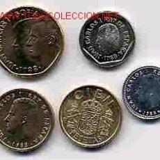 Monedas de España: COLECCION PESETAS AÑO 1988 M COMPLETA SIN CIRCULAR.. Lote 21474854