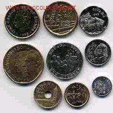 Monedas de España: COLECCION PESETAS AÑO 1995 M COMPLETA SIN CIRCULAR.. Lote 129234214
