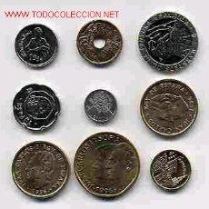 Monedas de España: COLECCION 9 MONEDAS AÑO 1996 M PESETAS COMPLETA SIN CIRCULAR ORIGINALES RB. Lote 221746315
