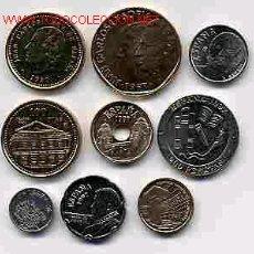 Monedas de España: COLECCION PESETAS AÑO 1997 M COMPLETA SIN CIRCULAR.. Lote 143088376