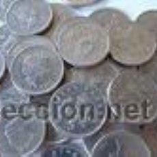 Monedas de España: 10 MONEDAS DE LA SELECCION ESPAÑOLA DE FUTBOL.. Lote 63266395