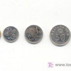 Monedas de España: COLECCIÓN DE SEIS MONEDAS MUNDIAL DE FUTBOL ESPAÑA 82. Lote 26135092
