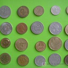 Monedas de España: LOTE 12 DE 20 MONEDAS VARIADAS. Lote 24790918