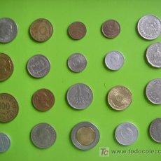 Monedas de España: LOTE 18 DE 20 MONEDAS VARIADAS. Lote 18655772