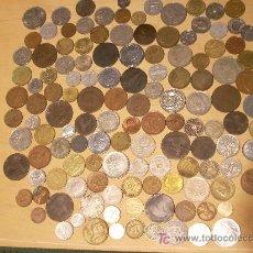 Monedas de España: MÁS DE 100 MONEDAS ESPAÑOLAS Y EXTRANJERAS, MODERNAS Y MUY ANTIGUAS. .. Lote 29010231