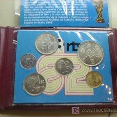 Monedas de España: JUEGO DE MONEDAS CONMEMORATIVAS DEL CAMPEONATO MUNDIAL ESPAÑA 82. Lote 26991128