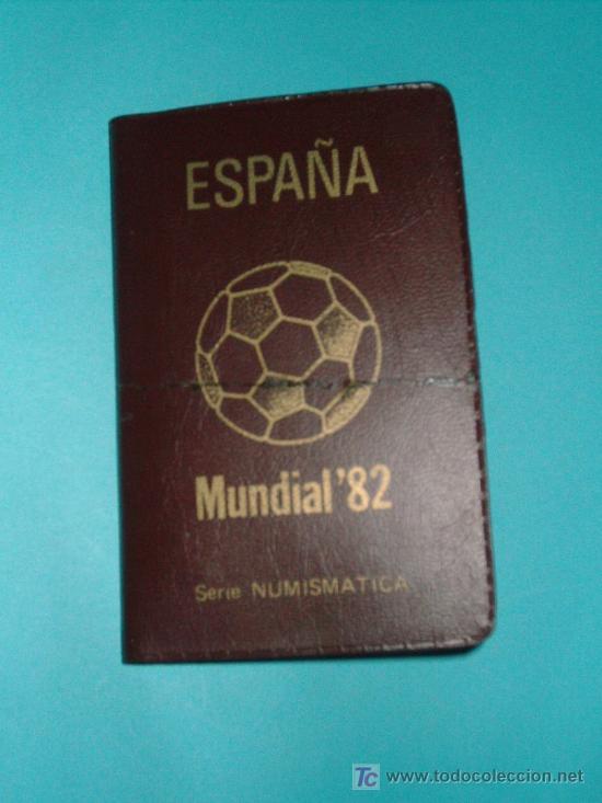 SERIE NUMISMATICA MUNDIAL DEL 82 (Numismática - España Modernas y Contemporáneas - Colecciones y Lotes de conjunto)