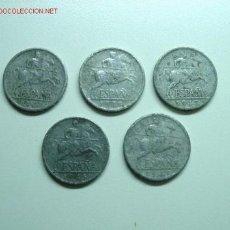 Monedas de España: 5 CENTIMOS 1945 (17). Lote 27626320