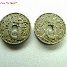 Monedas de España: 25 CENTIMOS 1949 *51 (18). Lote 25999016