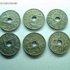 Monedas de España: 25 CENTIMOS 1949 *53 (19). Lote 27404779