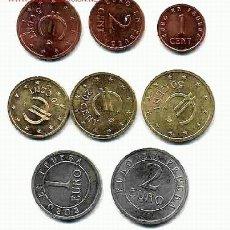 Monedas de España: COLECCION COMPLETA DE 8 MONEDAS DE EUROS DE CHURRIANA , PRUEBAS SIN CIRCULAR. FDC ,RB. Lote 183953177