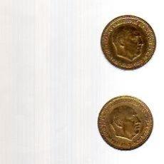 Monedas de España: 5 PESETAS 1957 *59 Y 1 PESETA 1963.. Lote 12510313